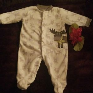 Baby boy carters made with love  6 month footie